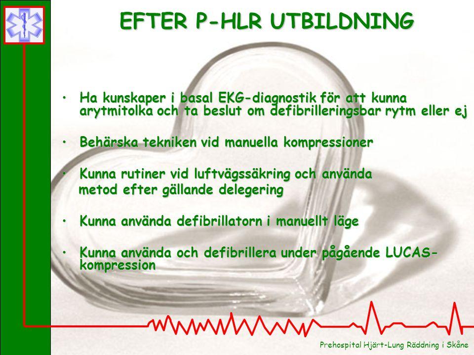 EFTER P-HLR UTBILDNING