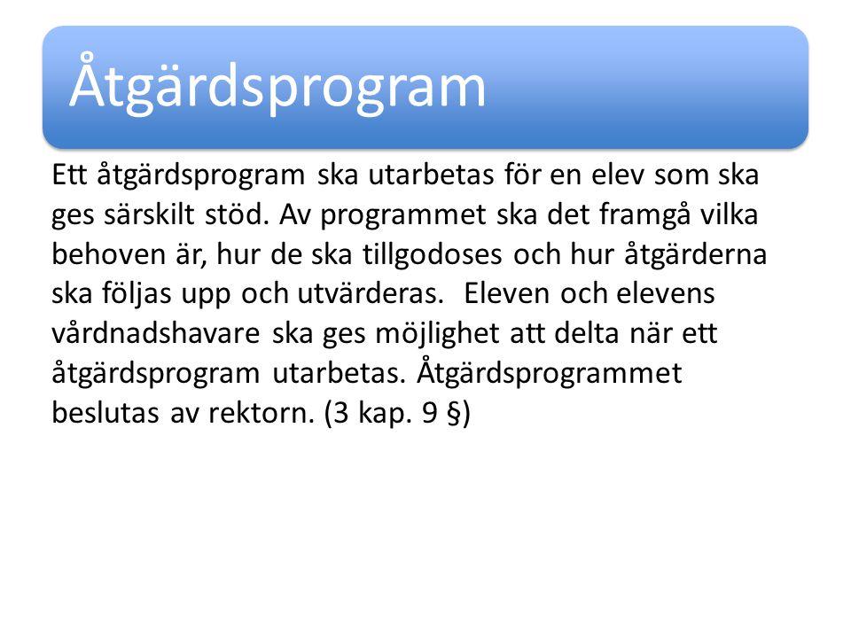 Åtgärdsprogram