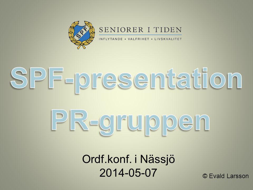 SPF-presentation PR-gruppen