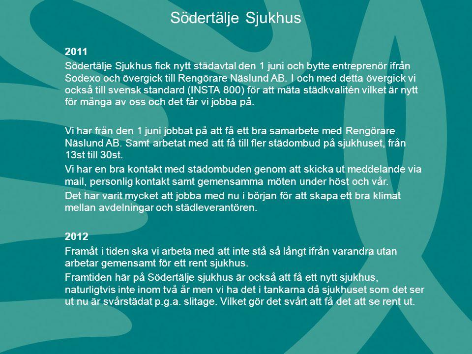 Södertälje Sjukhus 2011.
