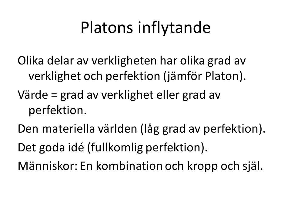 Platons inflytande