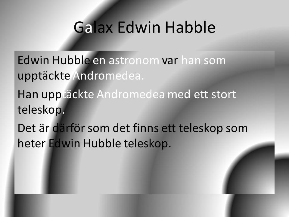 Galax Edwin Habble