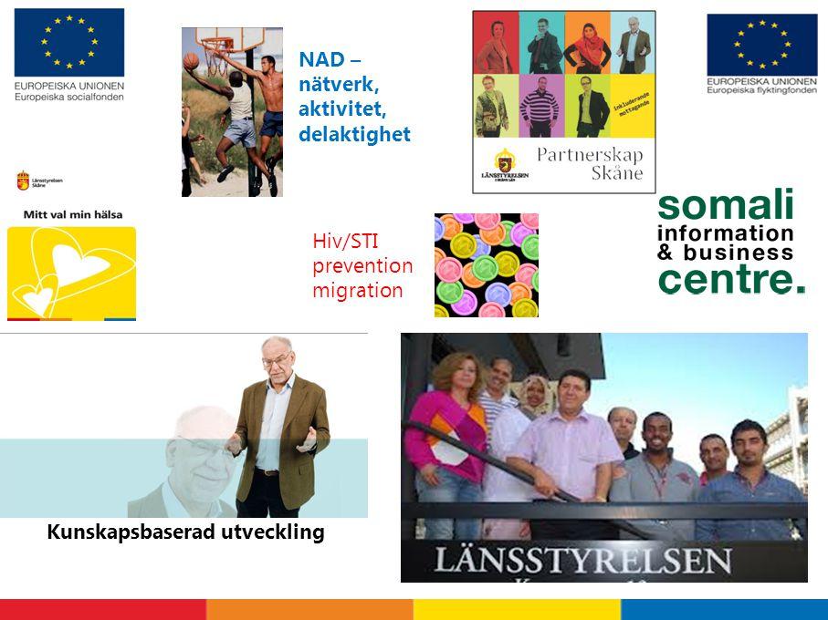 NAD – nätverk, aktivitet, delaktighet