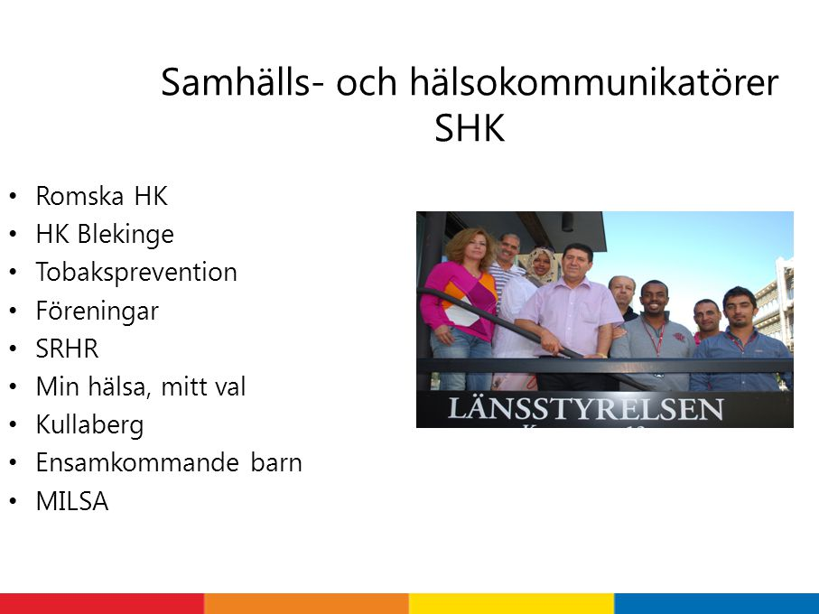 Samhälls- och hälsokommunikatörer SHK