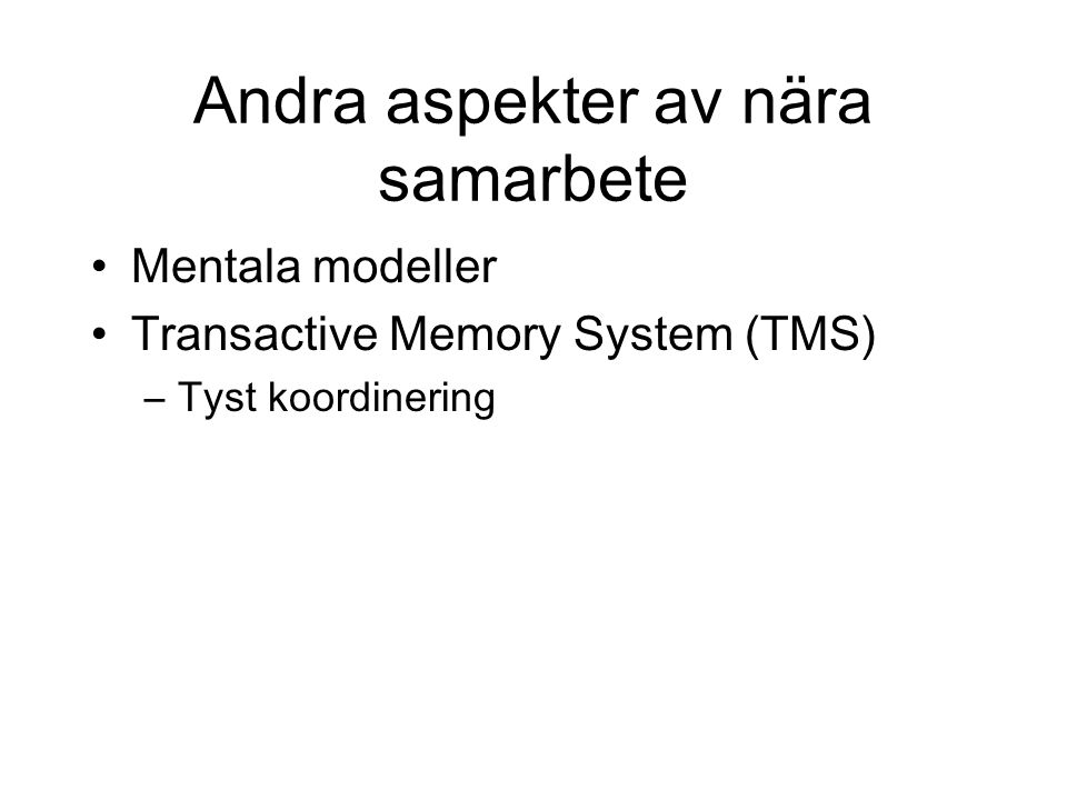 transactive memory Transactive memory is a psychological hypothesis first proposed by daniel wegner in 1985 as a response to earlier theories of group mind such as groupthink a transactive memory system is a system through which groups collectively encode, store, and retrieve knowledge.