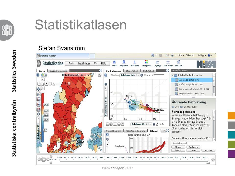 Statistikatlasen Stefan Svanström