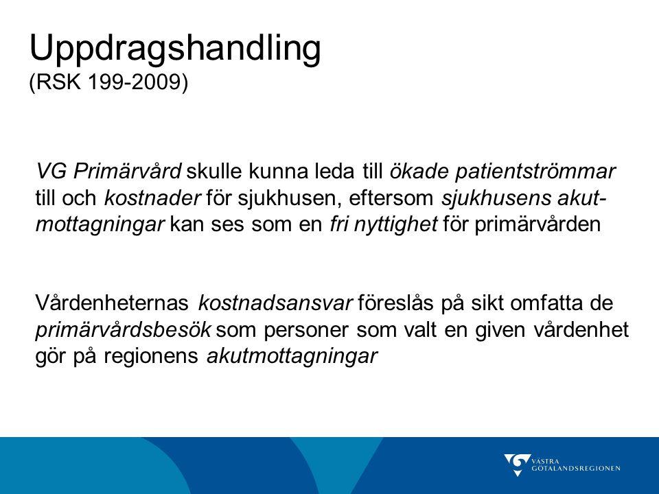 Uppdragshandling (RSK 199-2009)