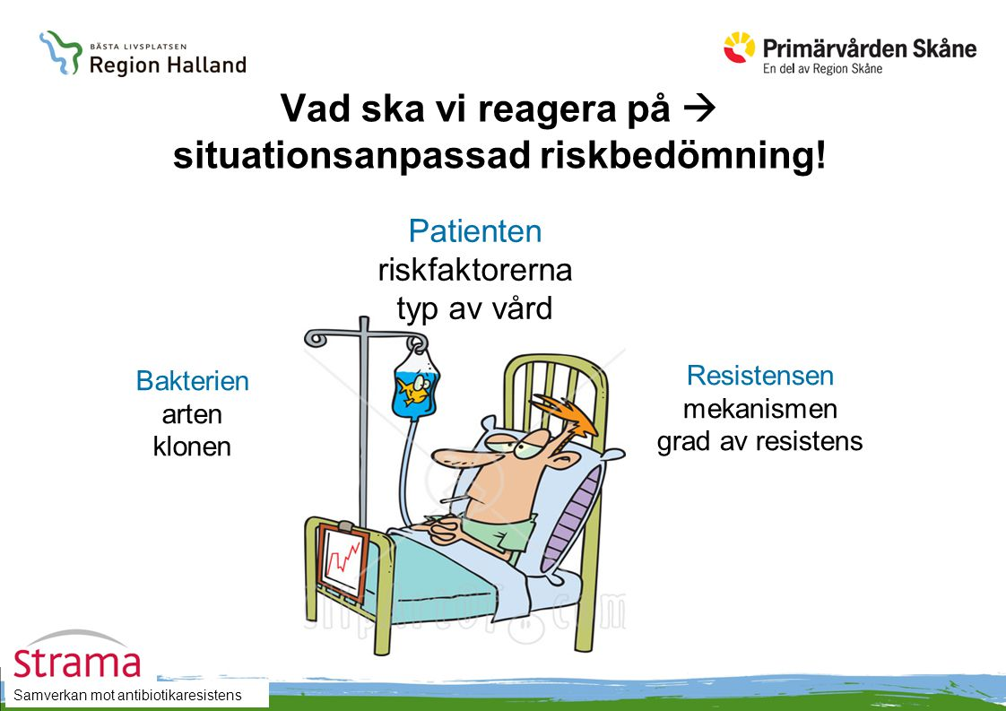 Vad ska vi reagera på  situationsanpassad riskbedömning!