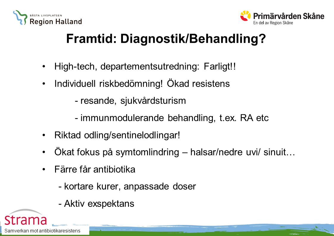 Framtid: Diagnostik/Behandling