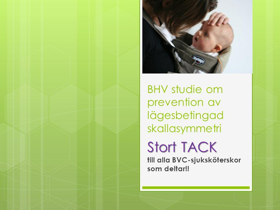 BHV studie om prevention av lägesbetingad skallasymmetri