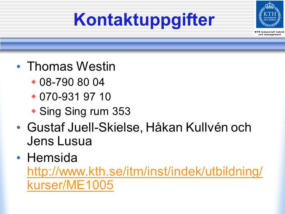 Kontaktuppgifter Thomas Westin