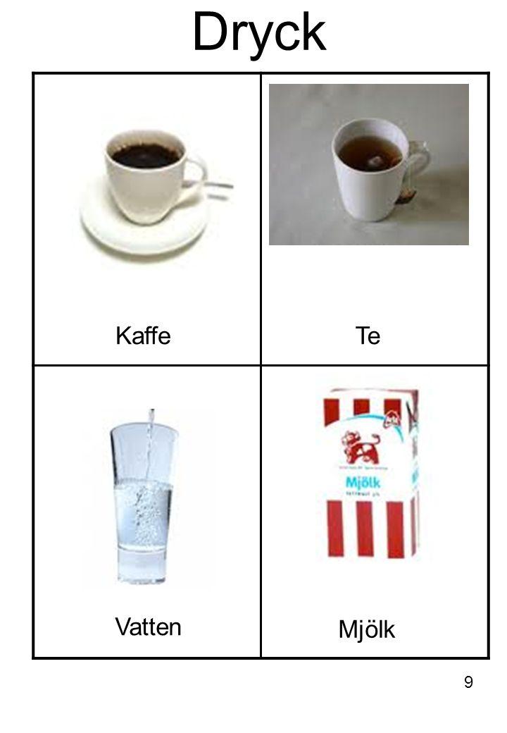 Dryck Kaffe Te Vatten Mjölk