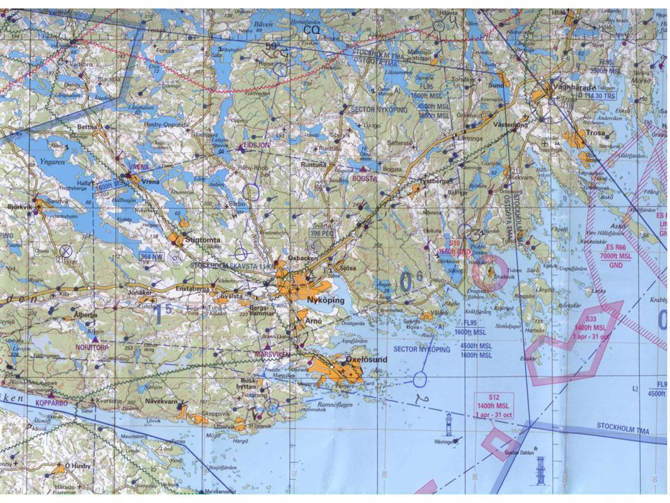 Det är en karta i skala 1:250 000 1 cm i kartan är i verkligheten 2,5 km. ( läraren går igenom olika skalor)