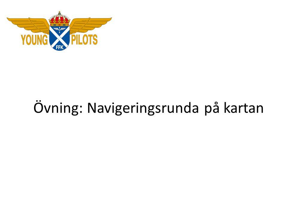 Övning: Navigeringsrunda på kartan
