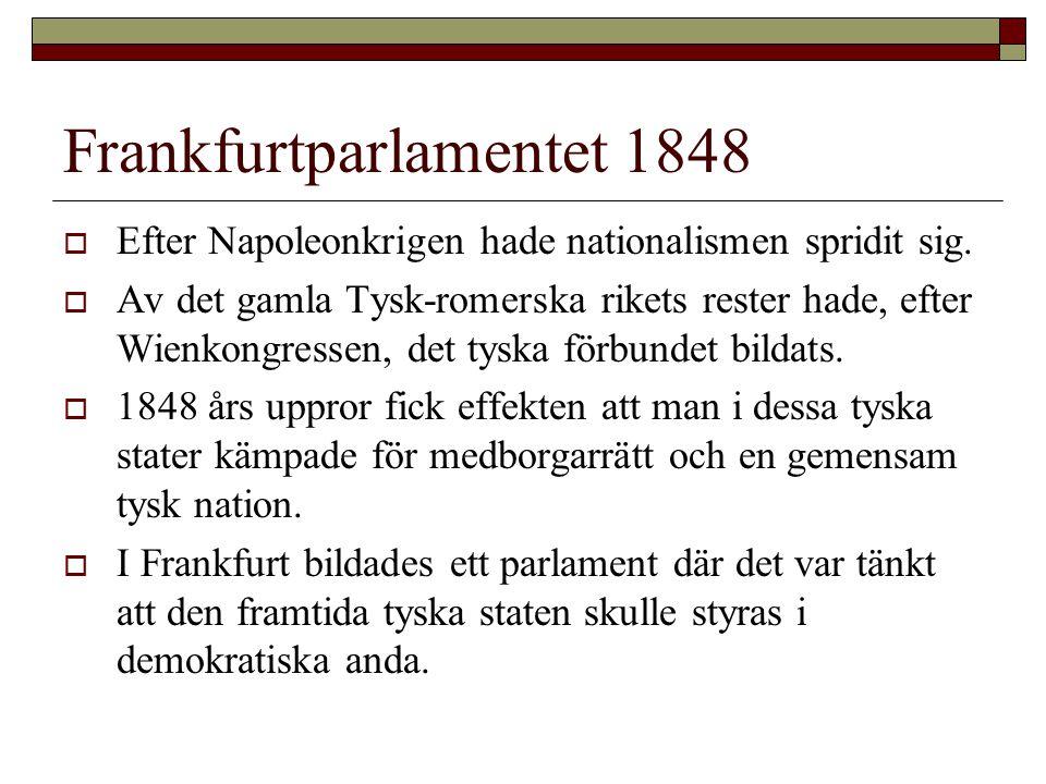Frankfurtparlamentet 1848