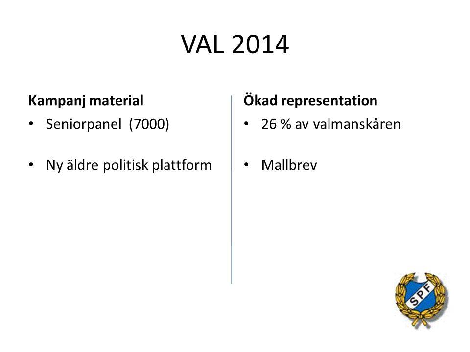 VAL 2014 Kampanj material Ökad representation Seniorpanel (7000)