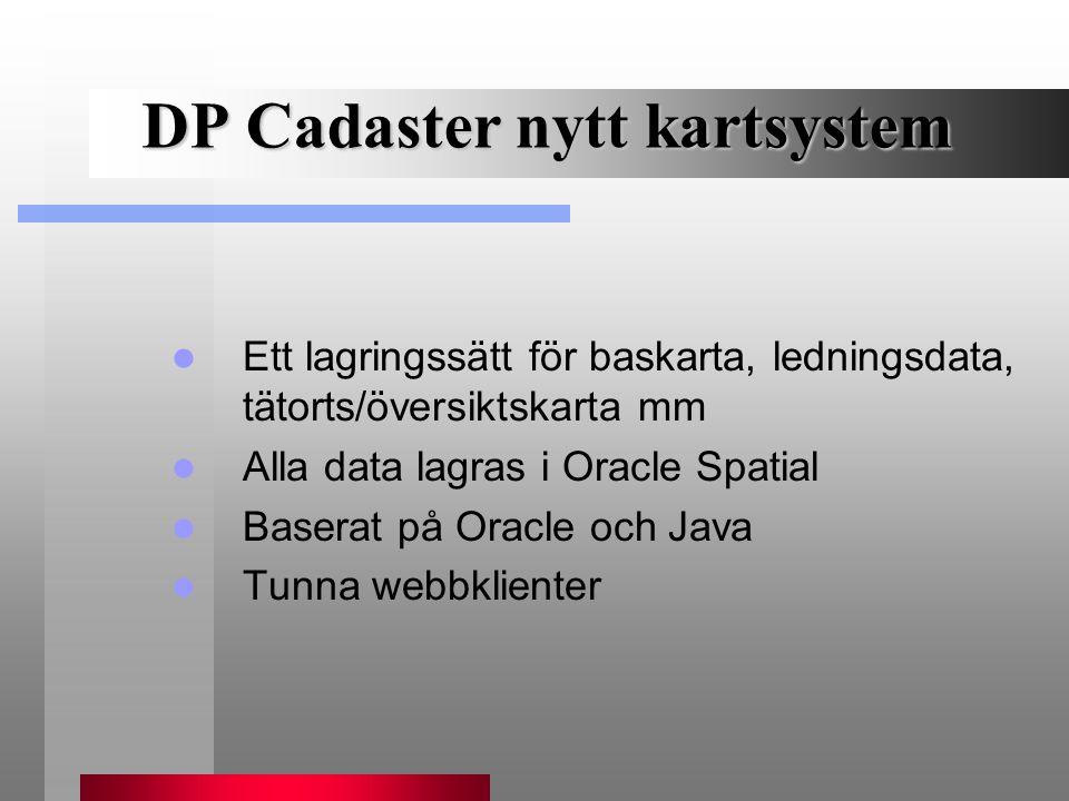 DP Cadaster nytt kartsystem