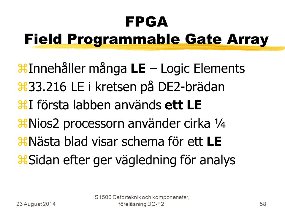 FPGA Field Programmable Gate Array