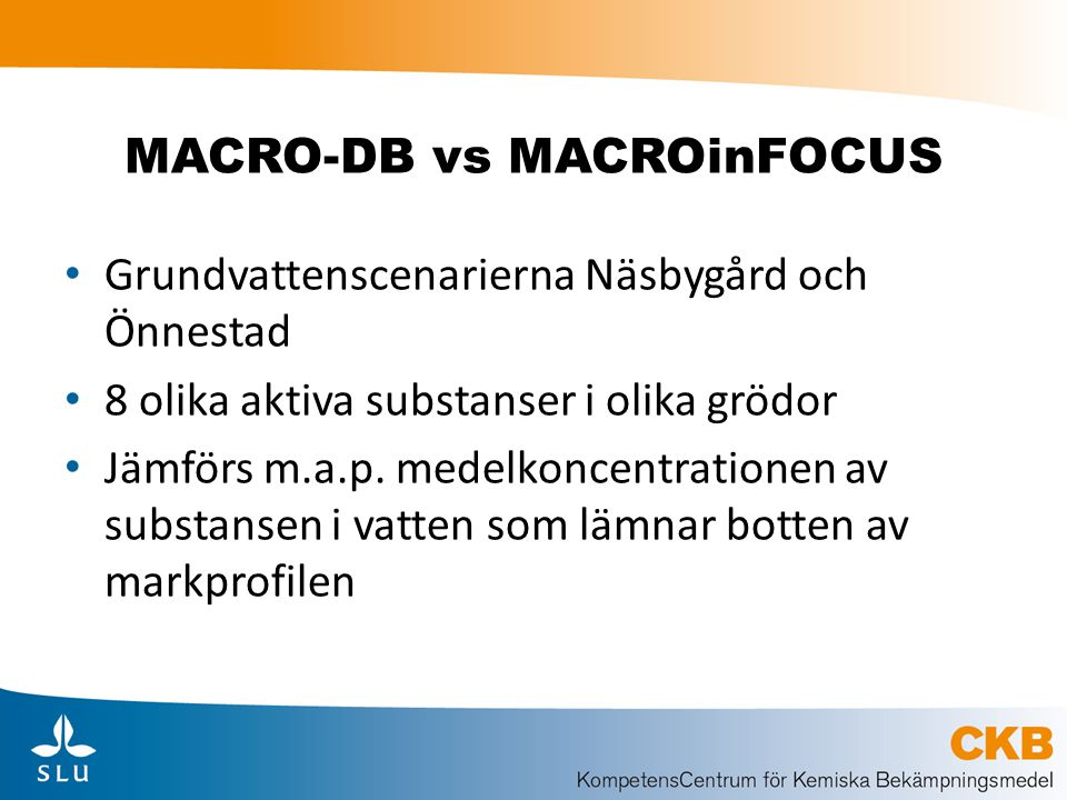 MACRO-DB vs MACROinFOCUS