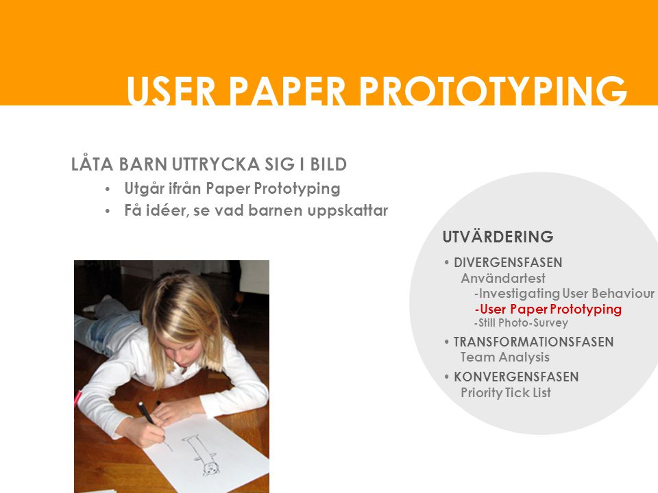 USER PAPER PROTOTYPING