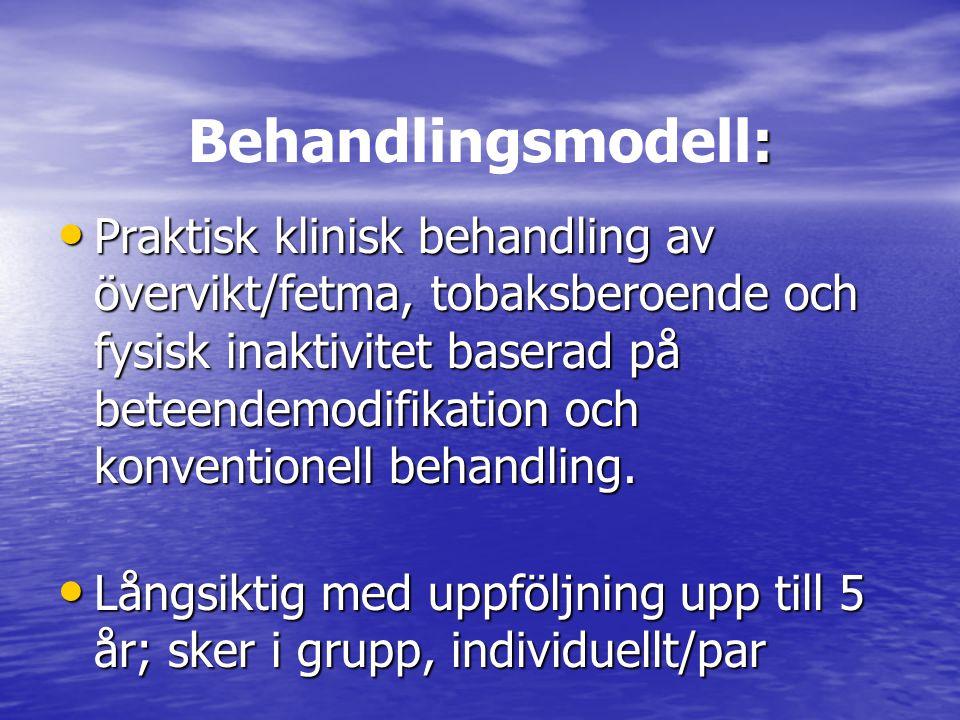 Behandlingsmodell: