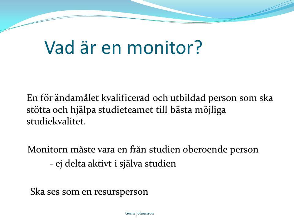 Vad är en monitor