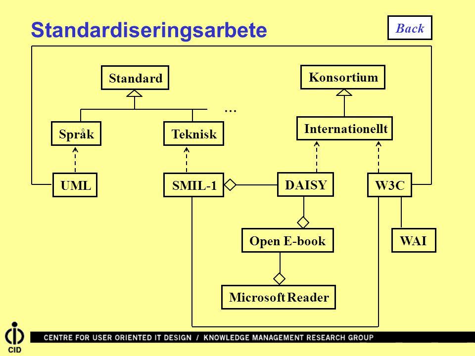 Standardiseringsarbete