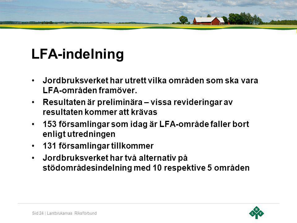 LFA-indelning Jordbruksverket har utrett vilka områden som ska vara LFA-områden framöver.