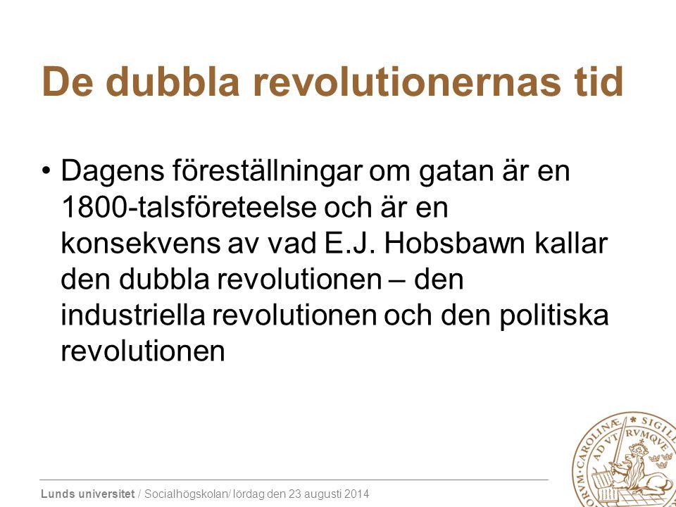 De dubbla revolutionernas tid