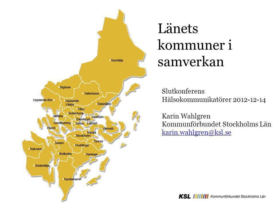 Länets kommuner i samverkan