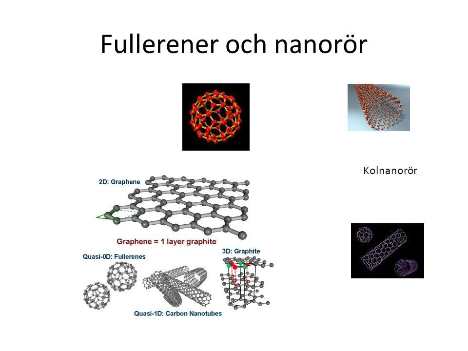 Fullerener och nanorör