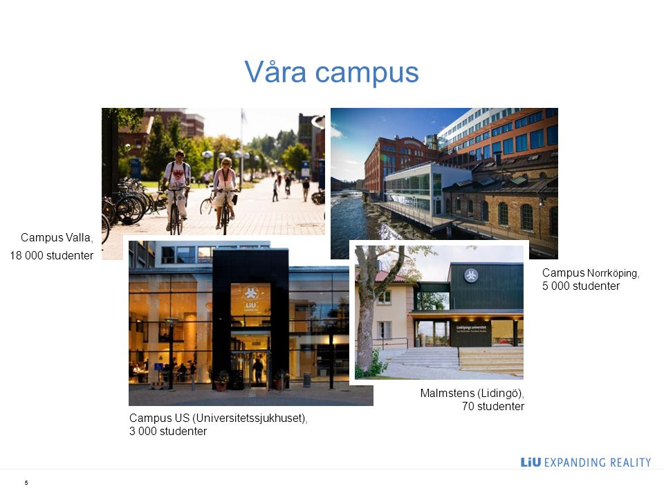 Våra campus 2017-04-06 Campus Valla, 18 000 studenter
