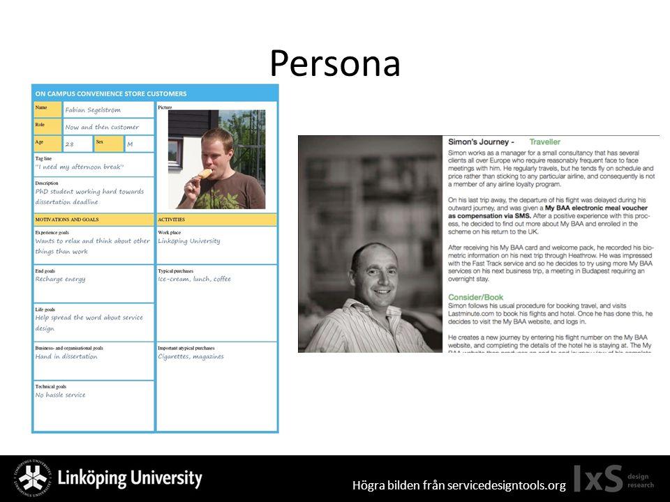 Persona Högra bilden från servicedesigntools.org