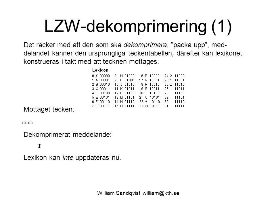 LZW-dekomprimering (1)