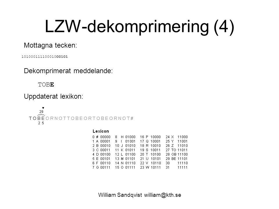 LZW-dekomprimering (4)