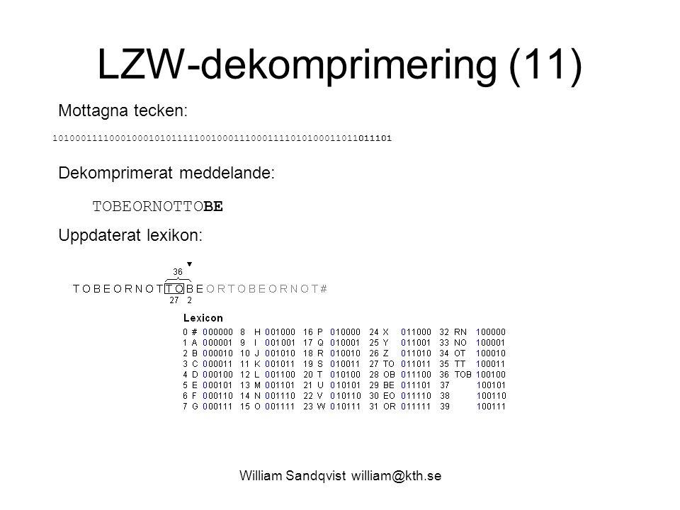 LZW-dekomprimering (11)