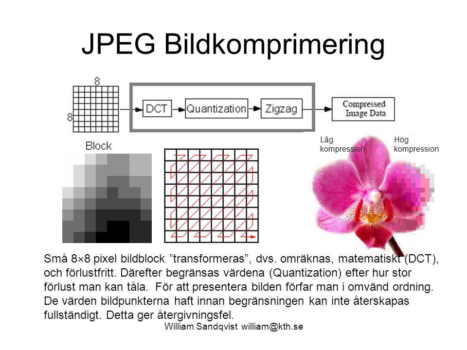 JPEG Bildkomprimering