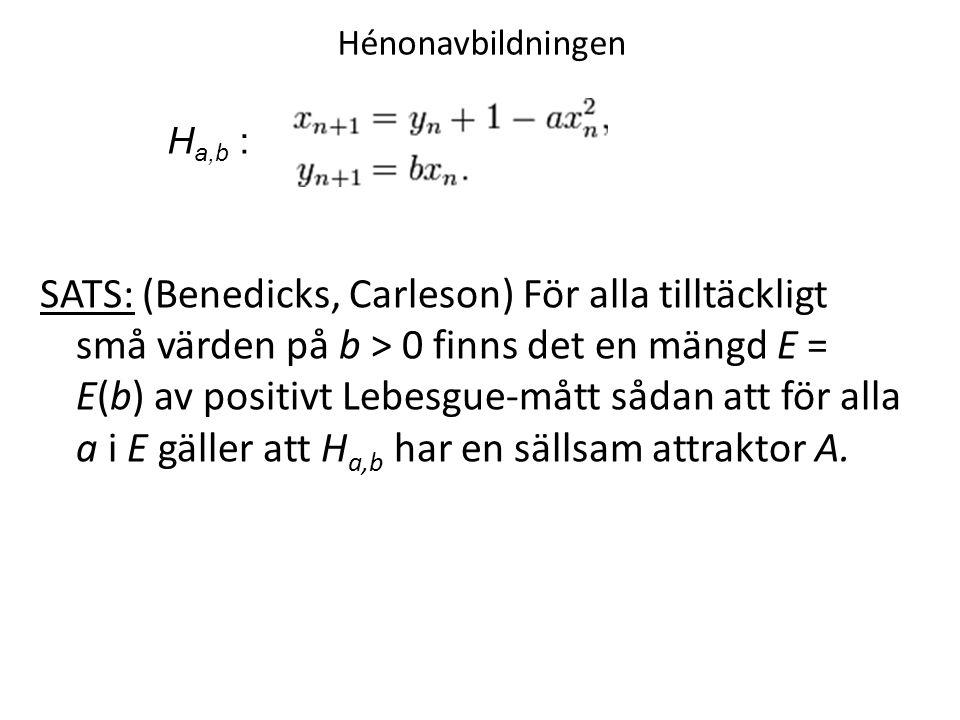 Hénonavbildningen Ha,b :