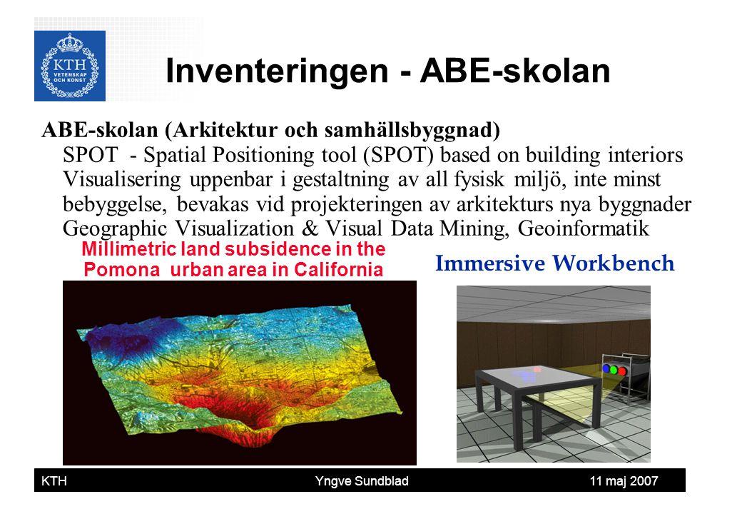 Inventeringen - ABE-skolan