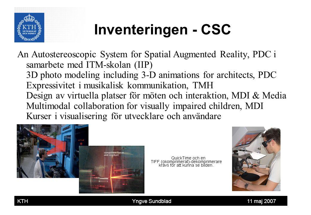 Inventeringen - CSC