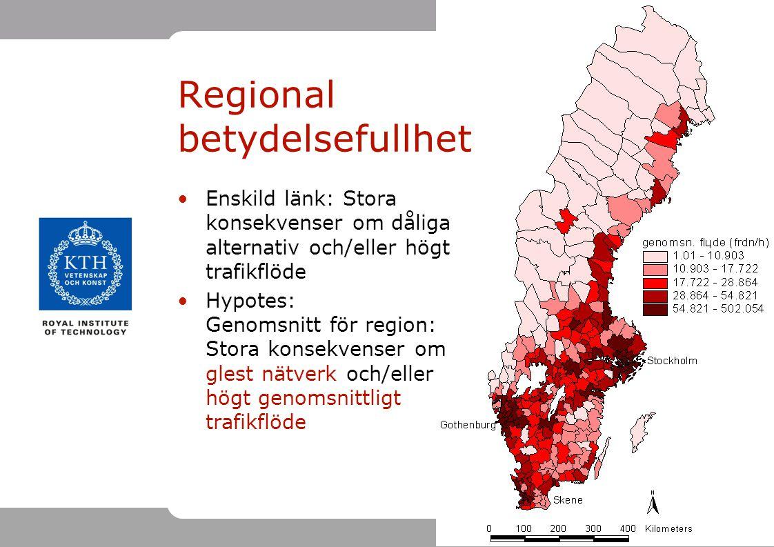 Regional betydelsefullhet