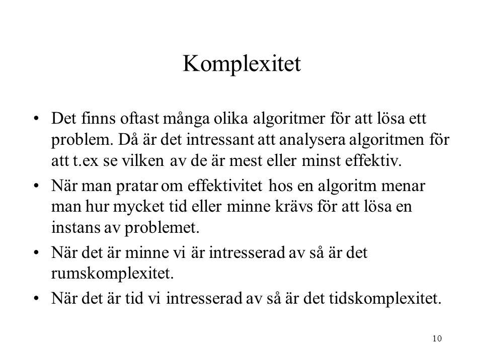 Komplexitet