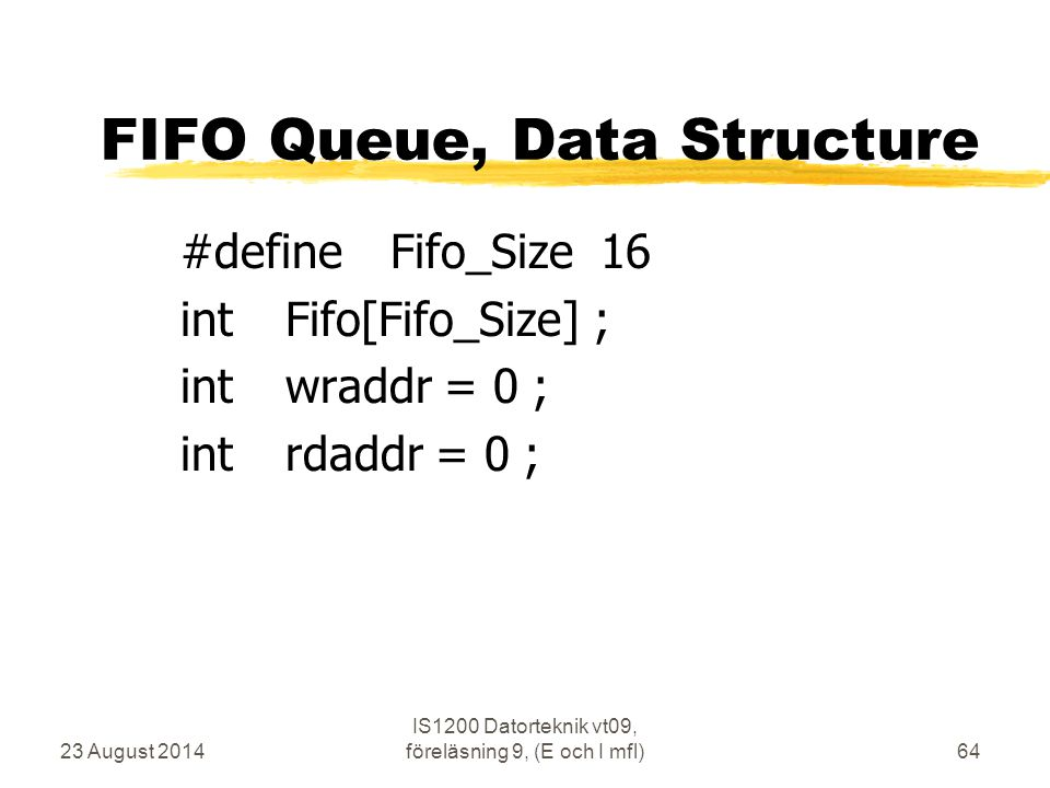 FIFO Queue, Data Structure