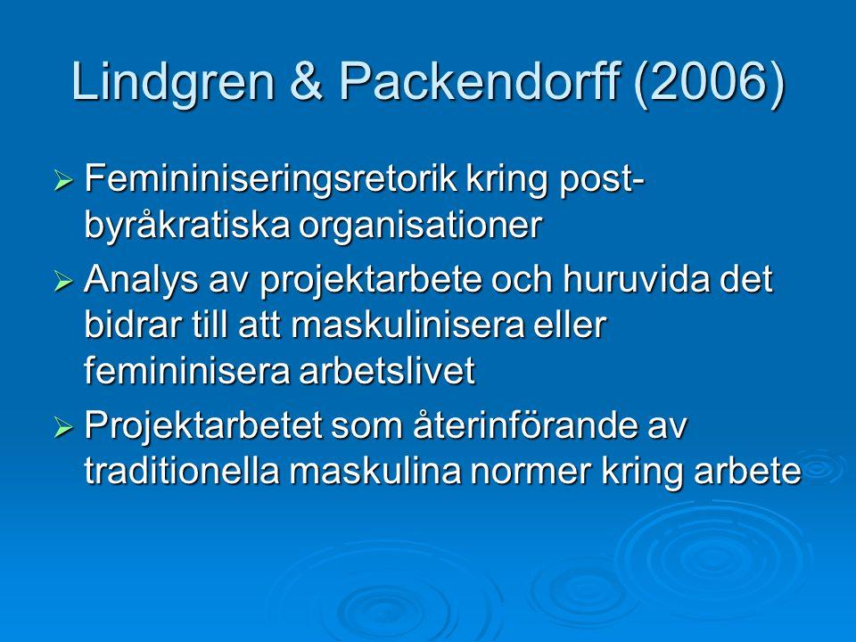 Lindgren & Packendorff (2006)