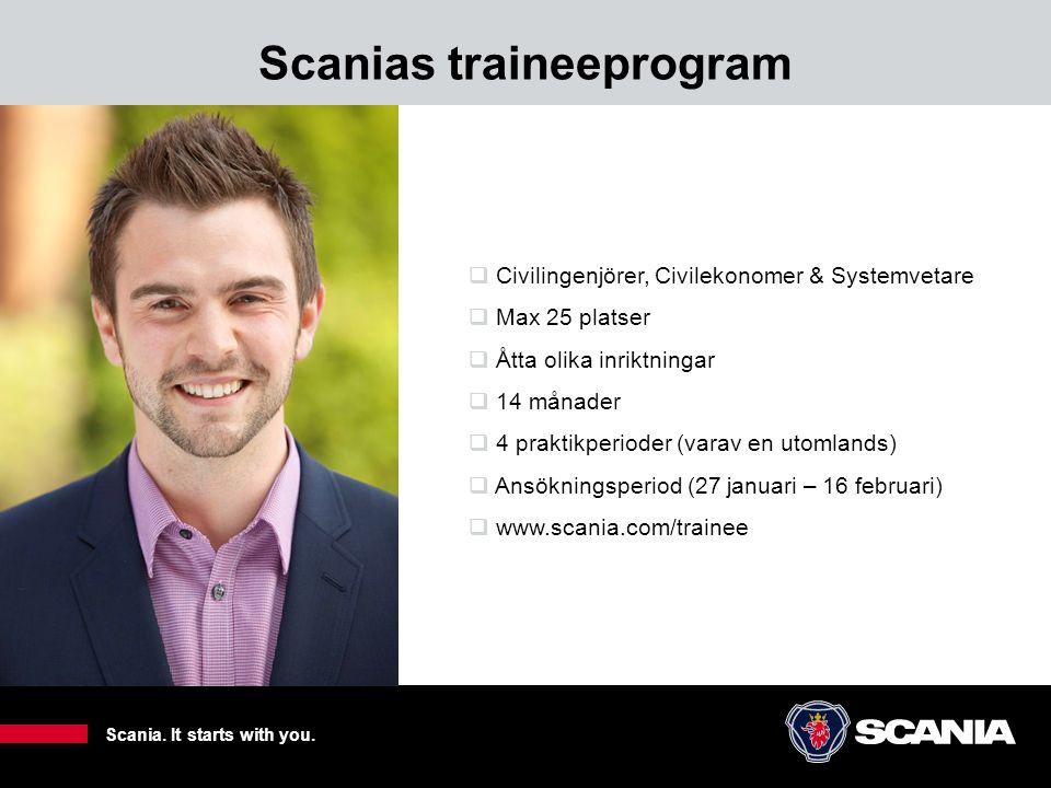 Scanias traineeprogram