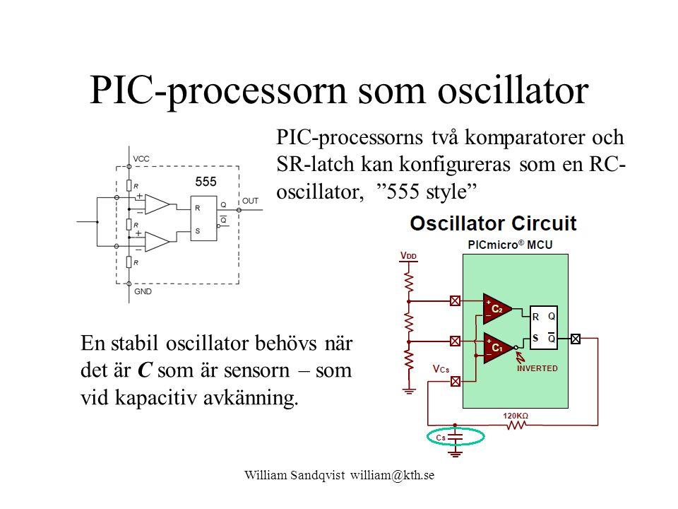 PIC-processorn som oscillator