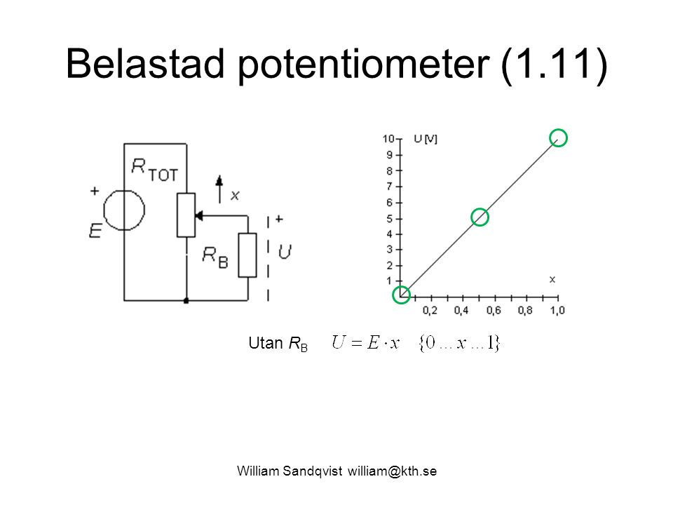 Belastad potentiometer (1.11)
