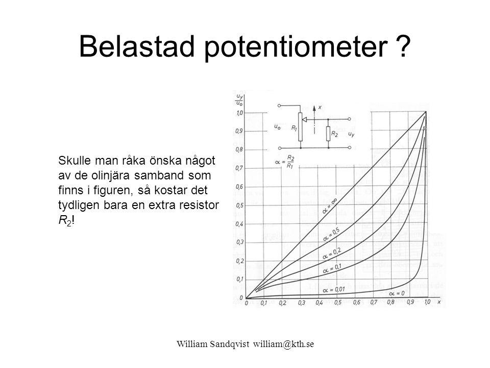 Belastad potentiometer