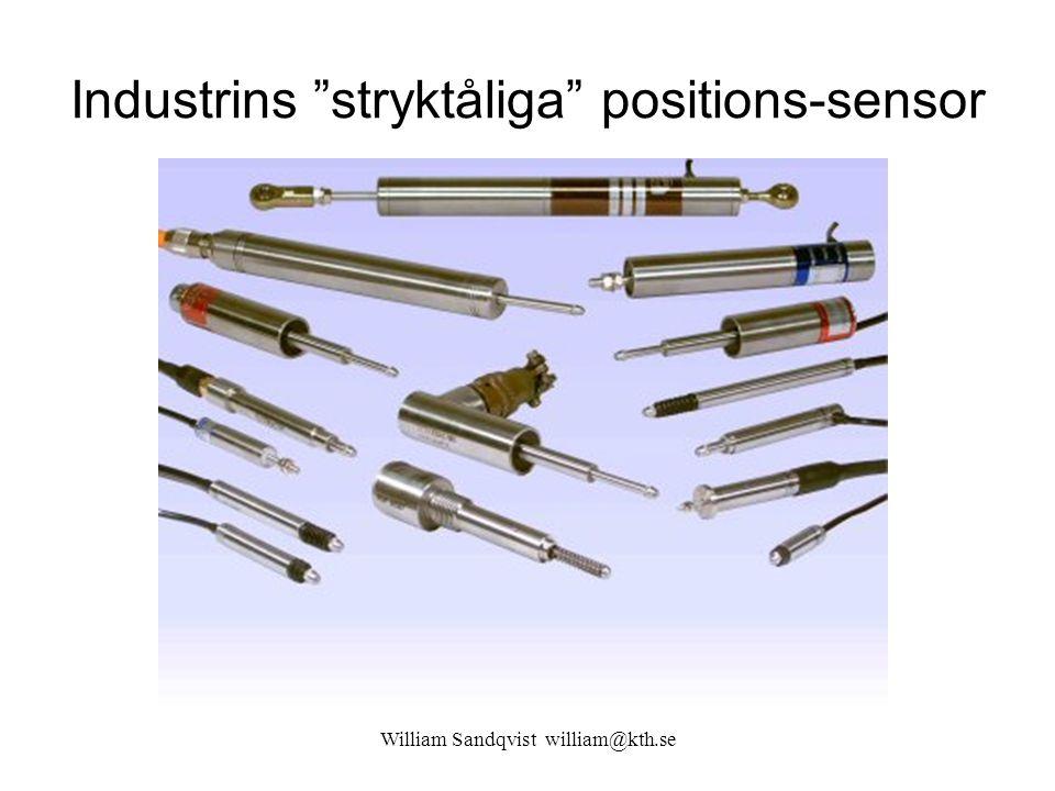 Industrins stryktåliga positions-sensor