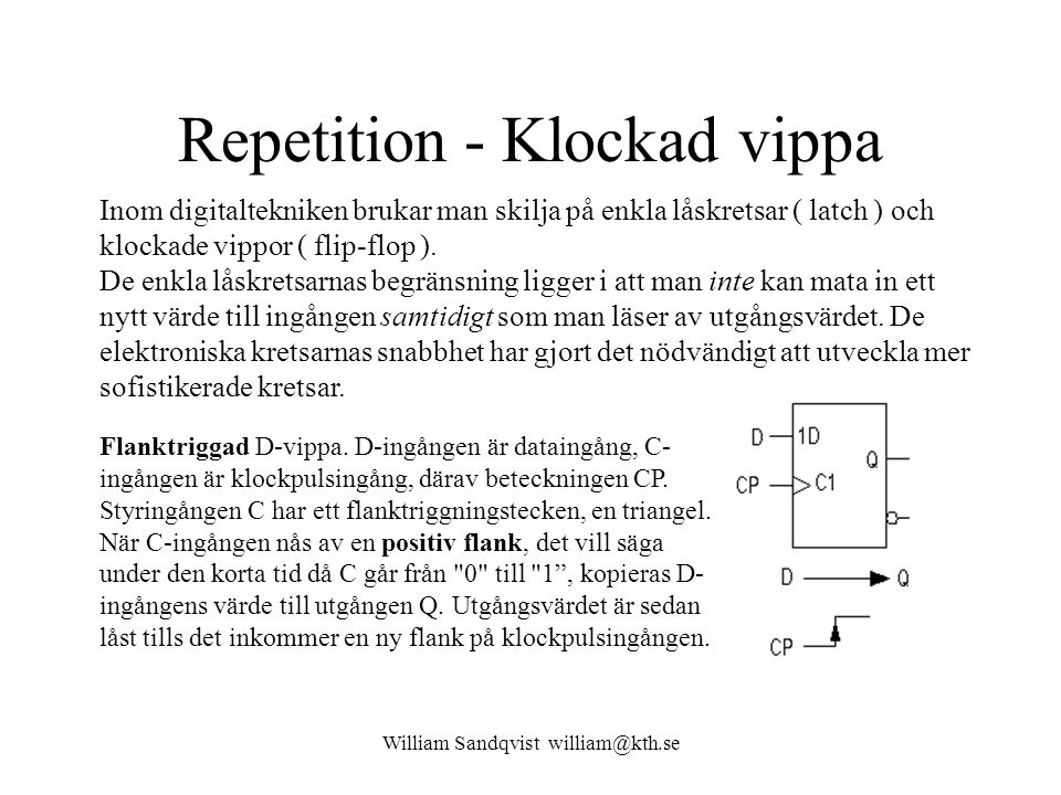 Repetition - Klockad vippa